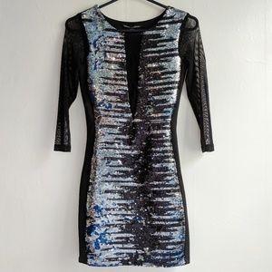 Bebe addition cocktail dress size xxs